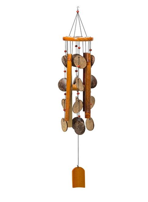 Warm Design Bambu Rüzgar Çanı Kahve